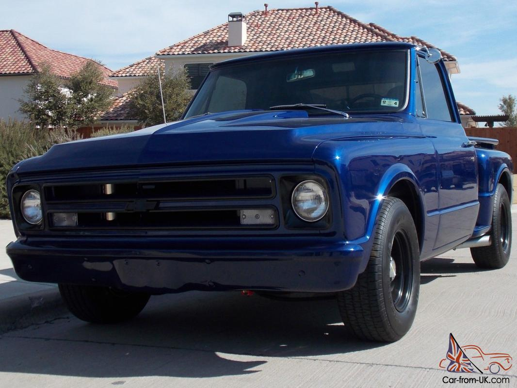 All Chevy 1969 chevy c10 for sale : Chevy C10 step side short bed pick up truck