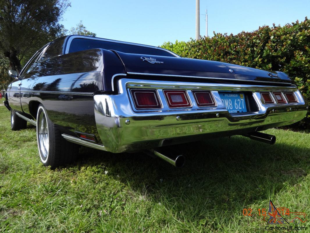 1973 Chevrolet Impala Custom Coupe Pristine Florida Car Not Caprice Or Chevelle