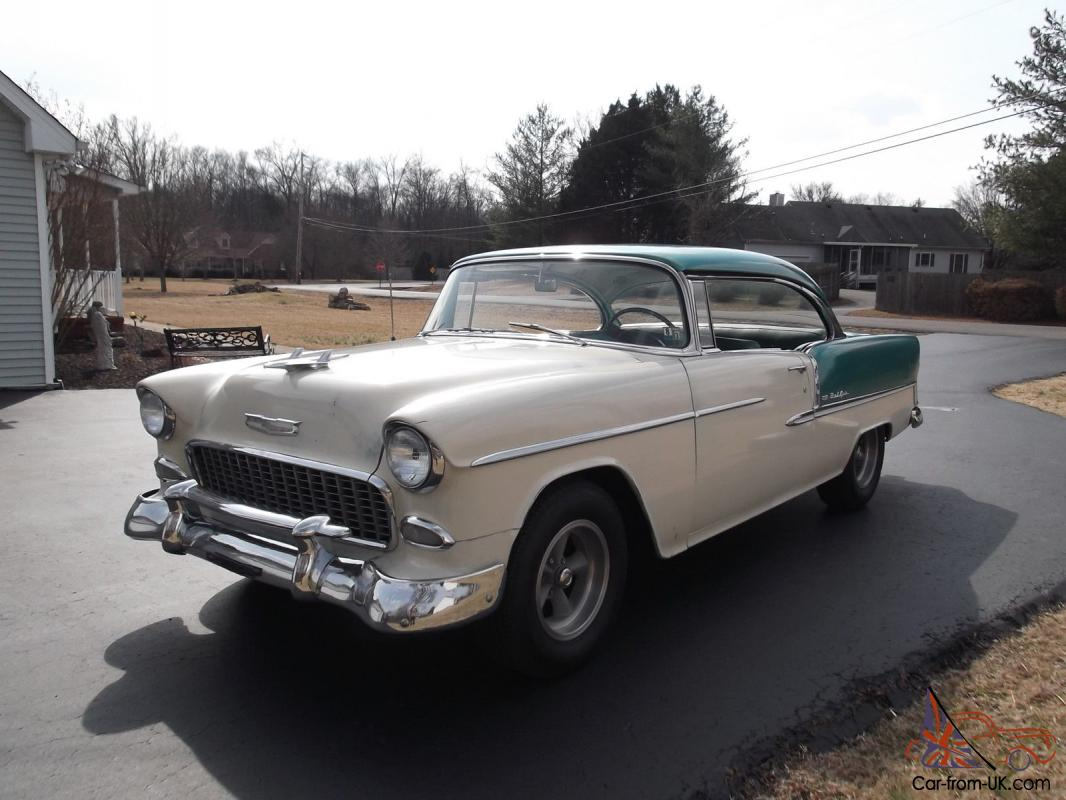 All Chevy 55 chevy for sale : Chevrolet Bel Air Hardtop 2-Door 55 Chevy