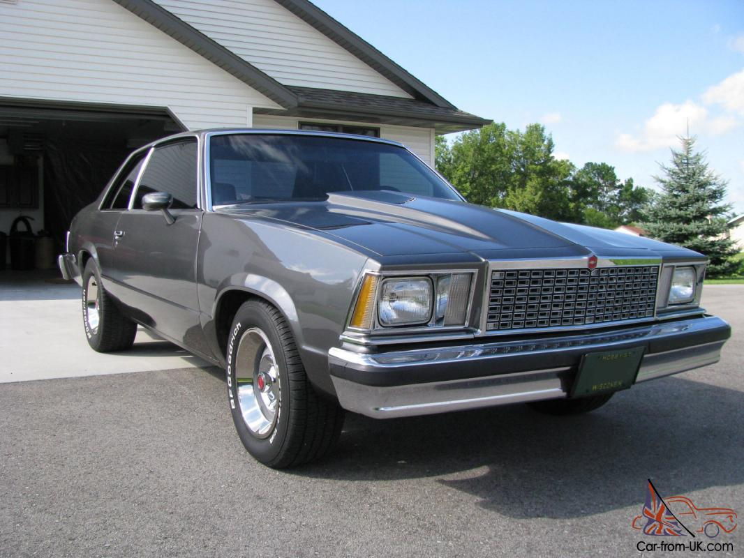 Chevy Malibu 4 Speed Classic G Body Chevrolet 1979 1980 1981 1982