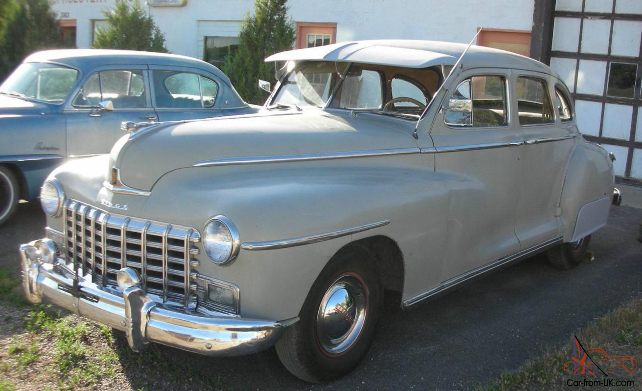 1948 Dodge 4 Door Sedan Suicide Doors Gangster Car That
