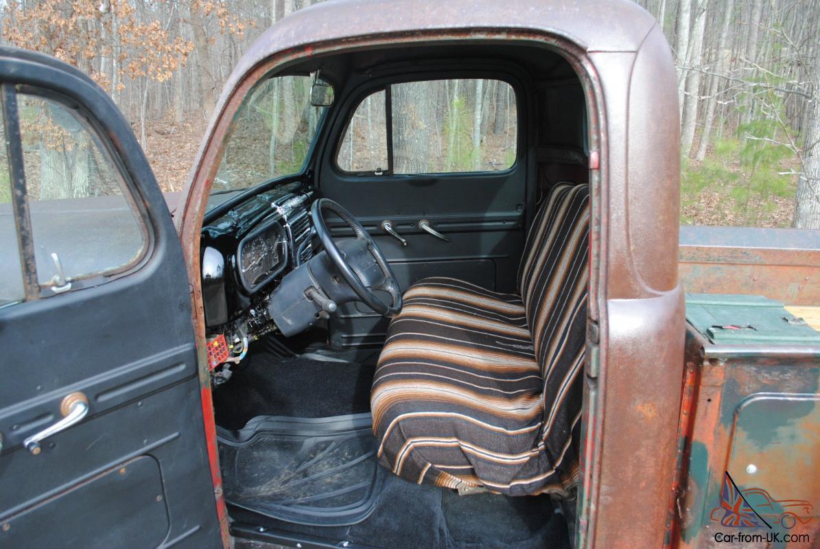 1948 Ford F-1 F100 Rat Rod Patina Hot Rod Shop Truck Pickup V8