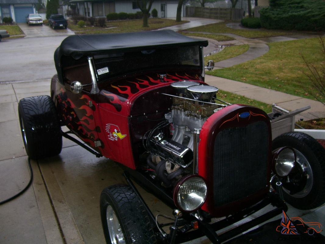 1929 Ford Model A Highboy Roadster Hot Rod