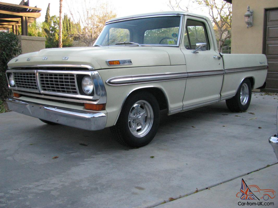 1970 Ford F100 Short Bed Crew Cab For Sale