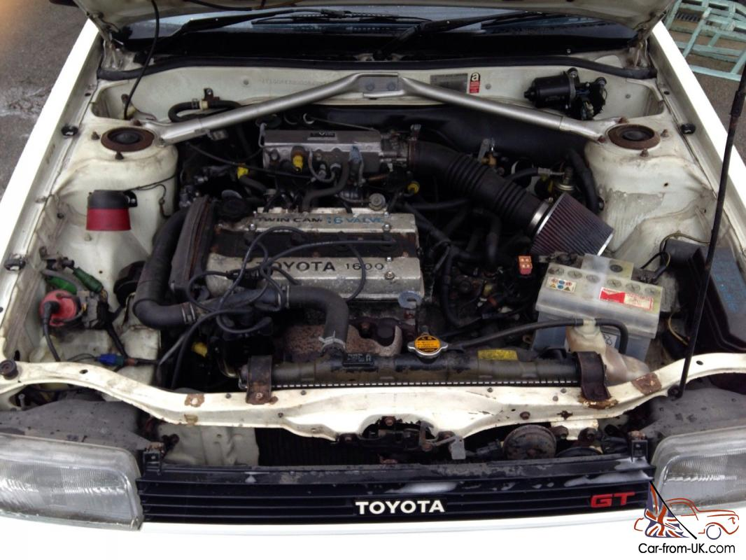 Toyota Corolla Gt Twin Cam 16 Valve Ae82 D Reg
