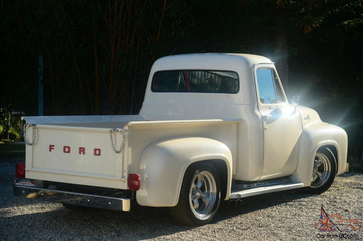 1955 Ford F100 Custom Street Truck W 460 Racing Engine Pick Up Gauge Cluster