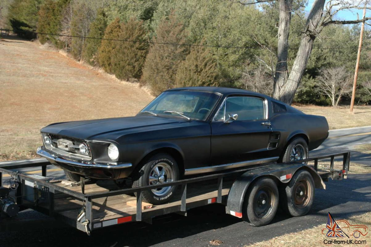 1967 Ford Mustang Factory GT Fastback Rare Shelby GT500 ...