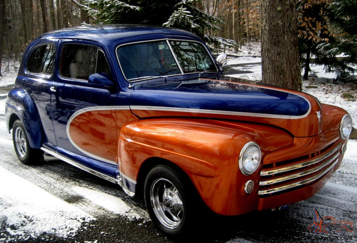 1948 Ford Coupe,All Steel Street Rod,Fresh Built 327 V-8,PS,PDB,Custom  Paint,Exc