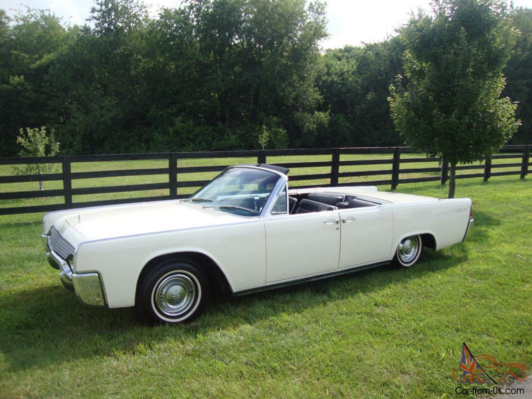 4 Door Convertible >> 1961 Lincoln Continental 4 Door Convertible Suicide Door 28900 Miles