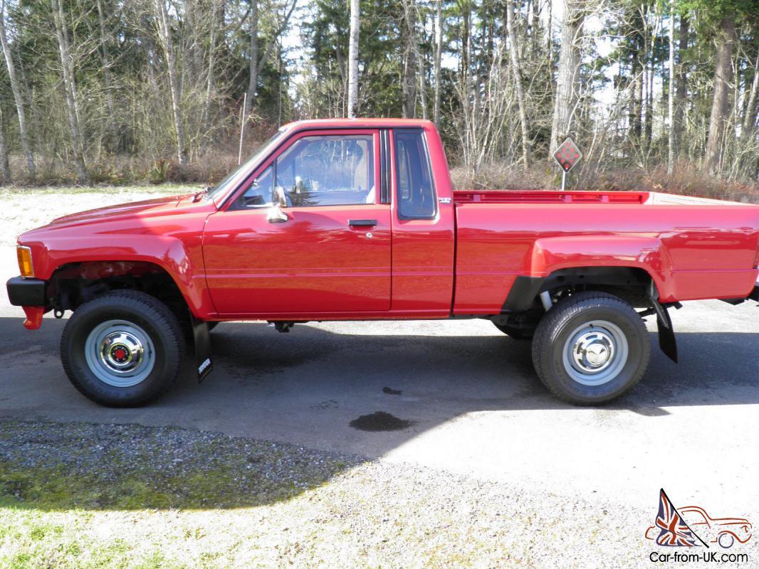 1986 Toyota SR5 4x4 Extended-Cab Truck Stock (FJ40 Wheels) Super Clean