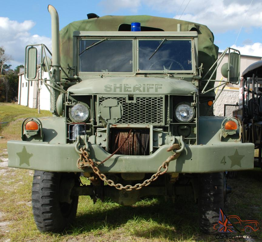 Good Running 1971 M35A2 2 5 Ton 6x6 Deuce and a Half Military Truck Turbo  Diesel