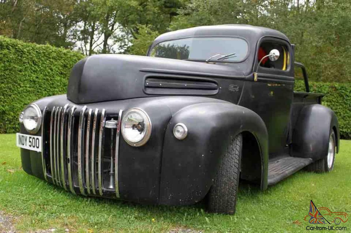 1946 Ford Pickup 1 2 Ton Truck