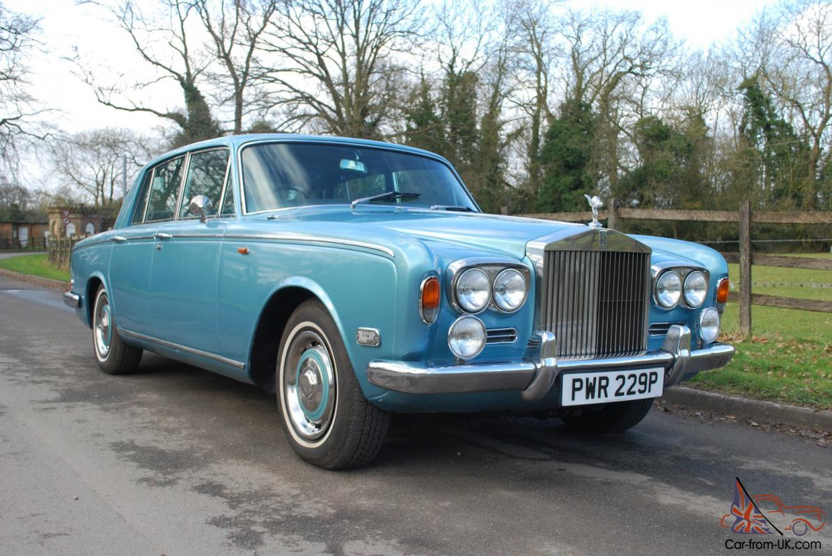 1972 Rolls Royce Silver Shadow  Tax Exempt  No Reserve