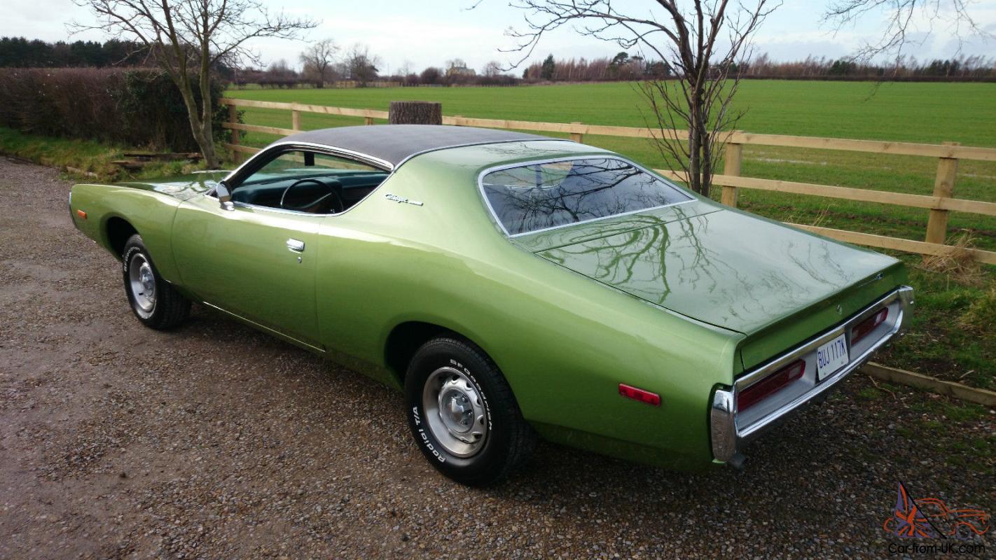 1972 Dodge Charger Hardtop Coupe 318 V8 5 2 Hurst 4 Speed Manual