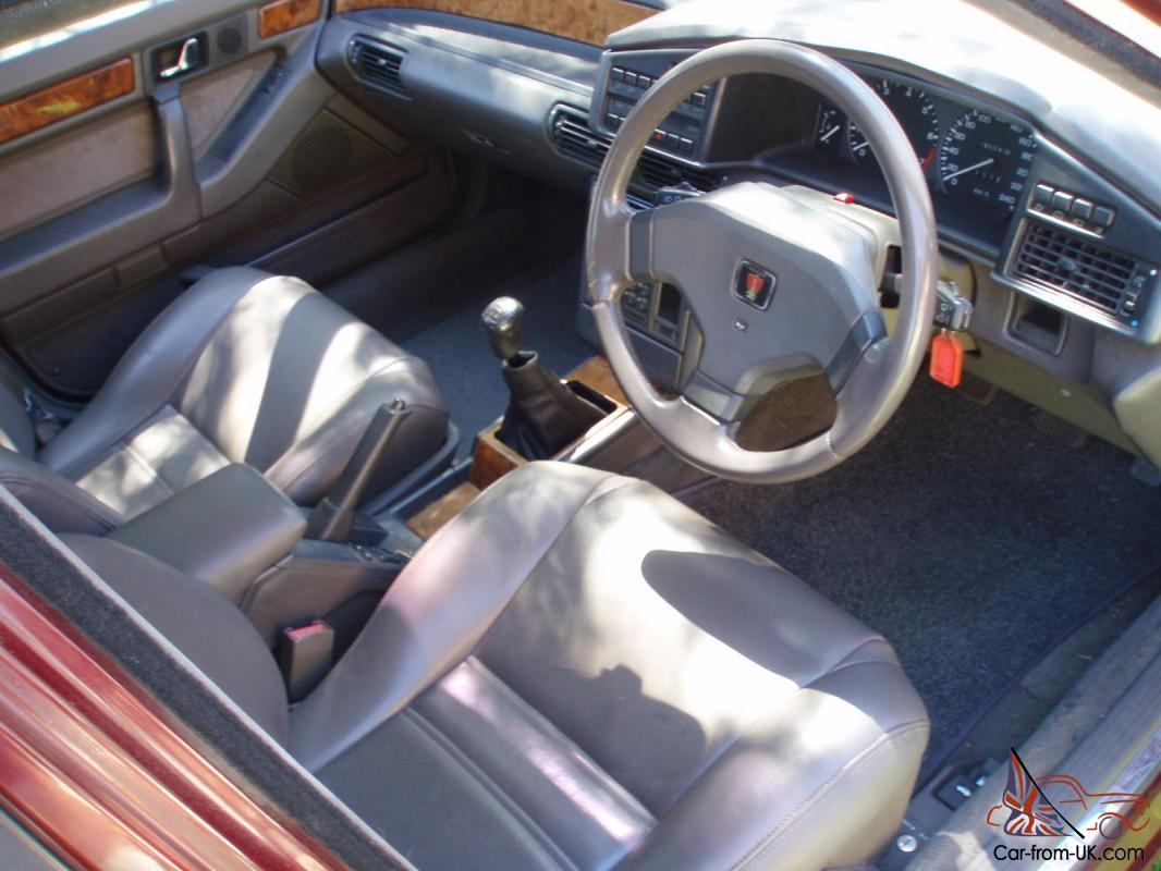 Rover 827 Vitesse Honda Legend 2 7l V6 5 Speed Manual 1990