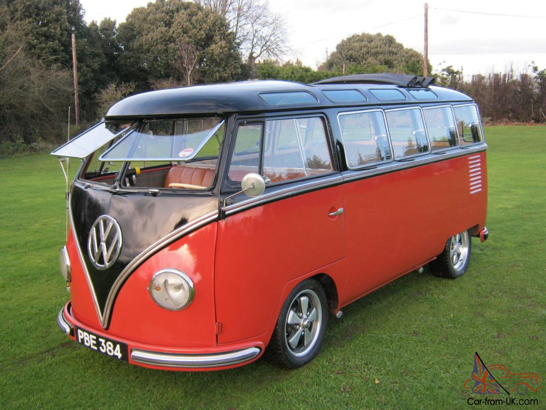 1957 Vw 23 Window Samba Bus Yes The Real Thing And The