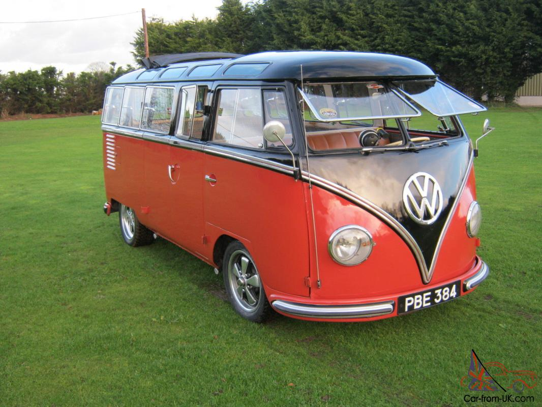 1957 VW 23 WINDOW SAMBA BUS. YES! THE REAL THING AND THE ...