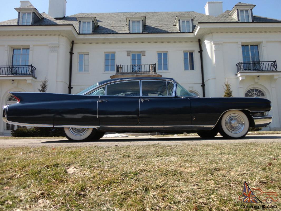1960 CADILLAC FLEETWOOD!! NEVADA RUST FREE SOLID CAR!! NO RESERVE!!
