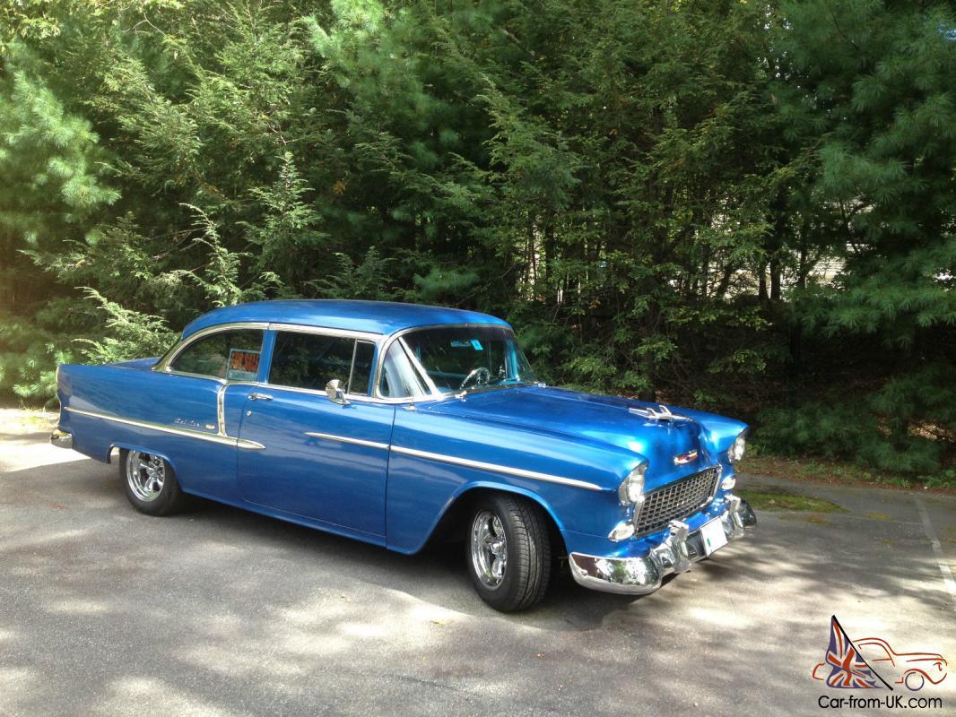12k In Miles >> 1955 Chevy Bel Air 2 Door 55 Chevrolet 12k Miles