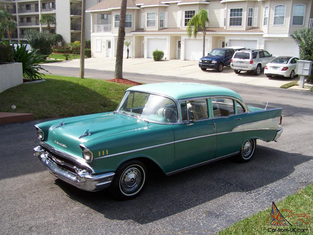 All Chevy 1957 chevy belair 4 door : Chevy Belair 4 Door in Absolutely Incredible Condition
