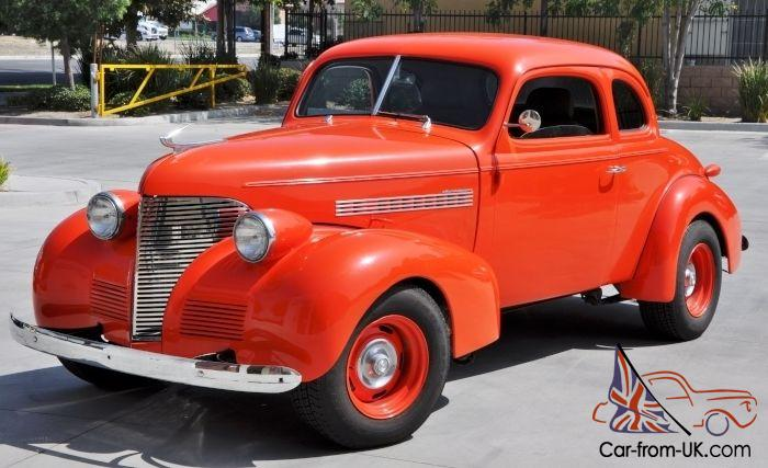 1939 39 Chevrolet Chevy Master Deluxe Business Coupe Hot Rod Street