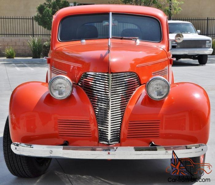 1939 39 Chevrolet Chevy Master Deluxe Business Coupe Hot
