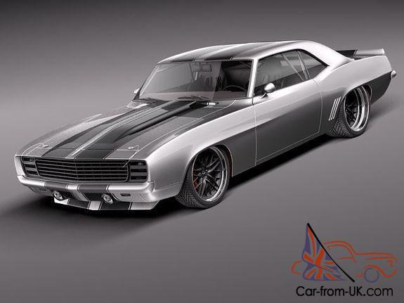 1967 68 69 Chevrolet Camaro Pro Touring Project Ss Z 28