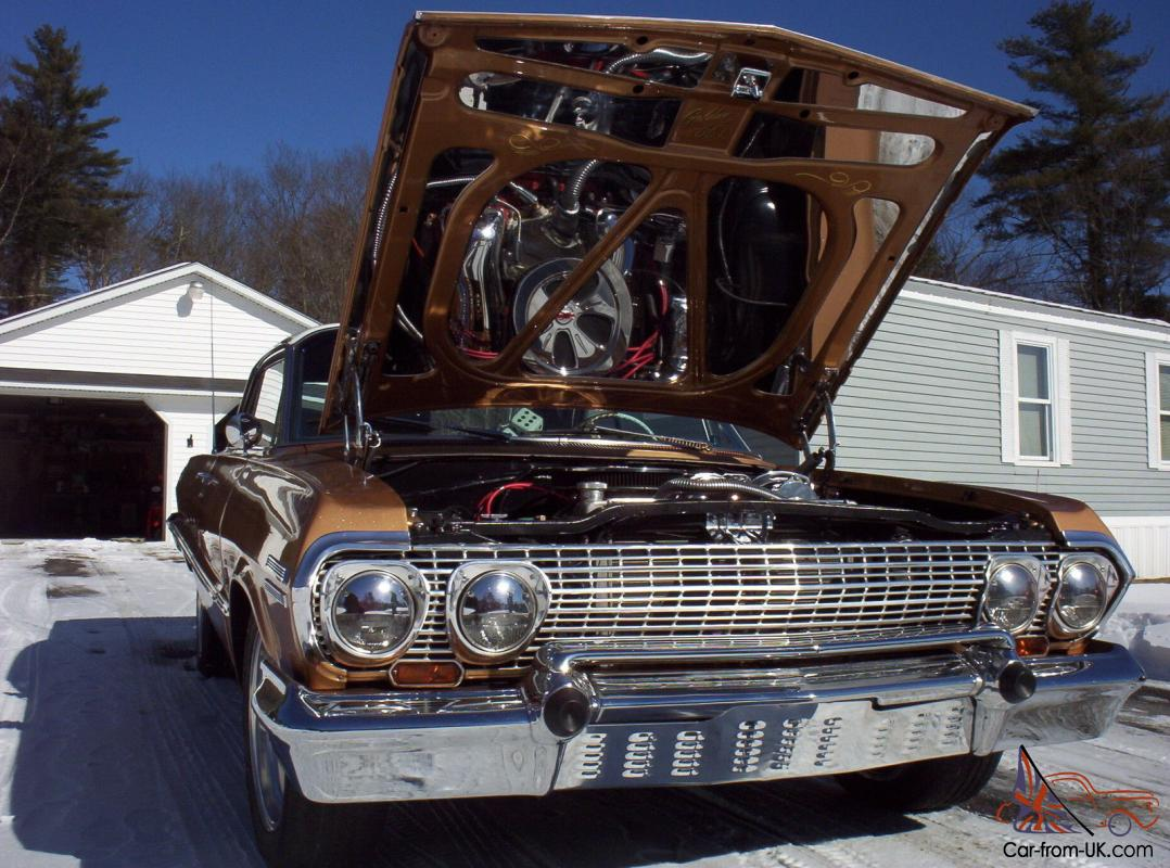 All Chevy 63 chevy 409 : Chevy Impala 2 Door Hardtop Rare 409 4 speed a Nice Show Car !