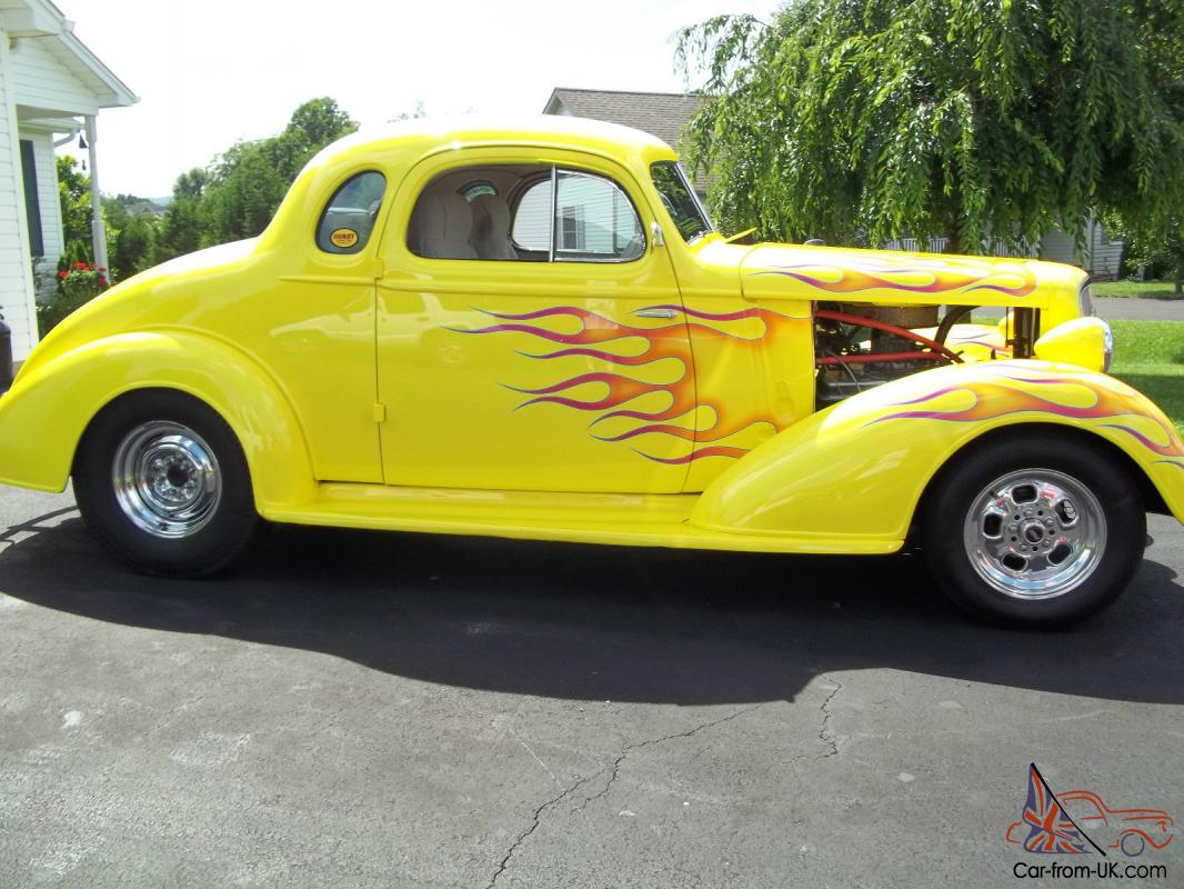 1935 Chevrolet Master Deluxe Coupe Small Block Hot Rod Street Rod