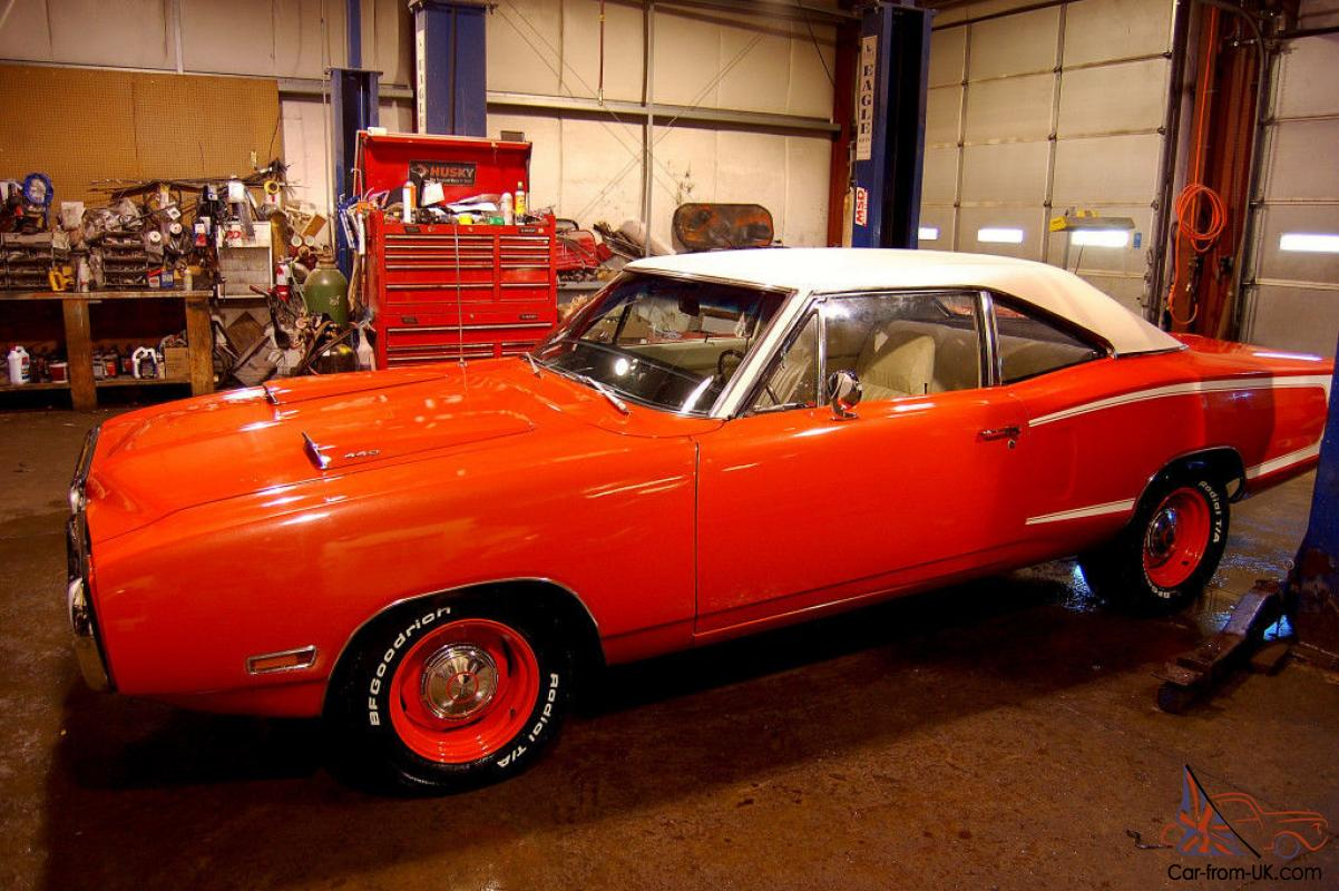 Super Bee 440 Sixpack Pistol Grip 4spd Hemi Orange Buckets