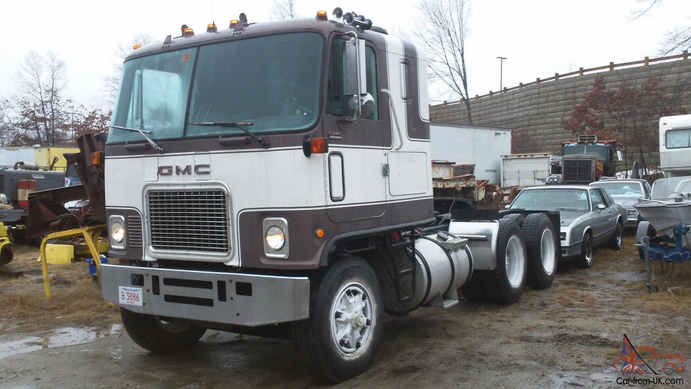 1978 Gmc Astro Cabover Truck Semi