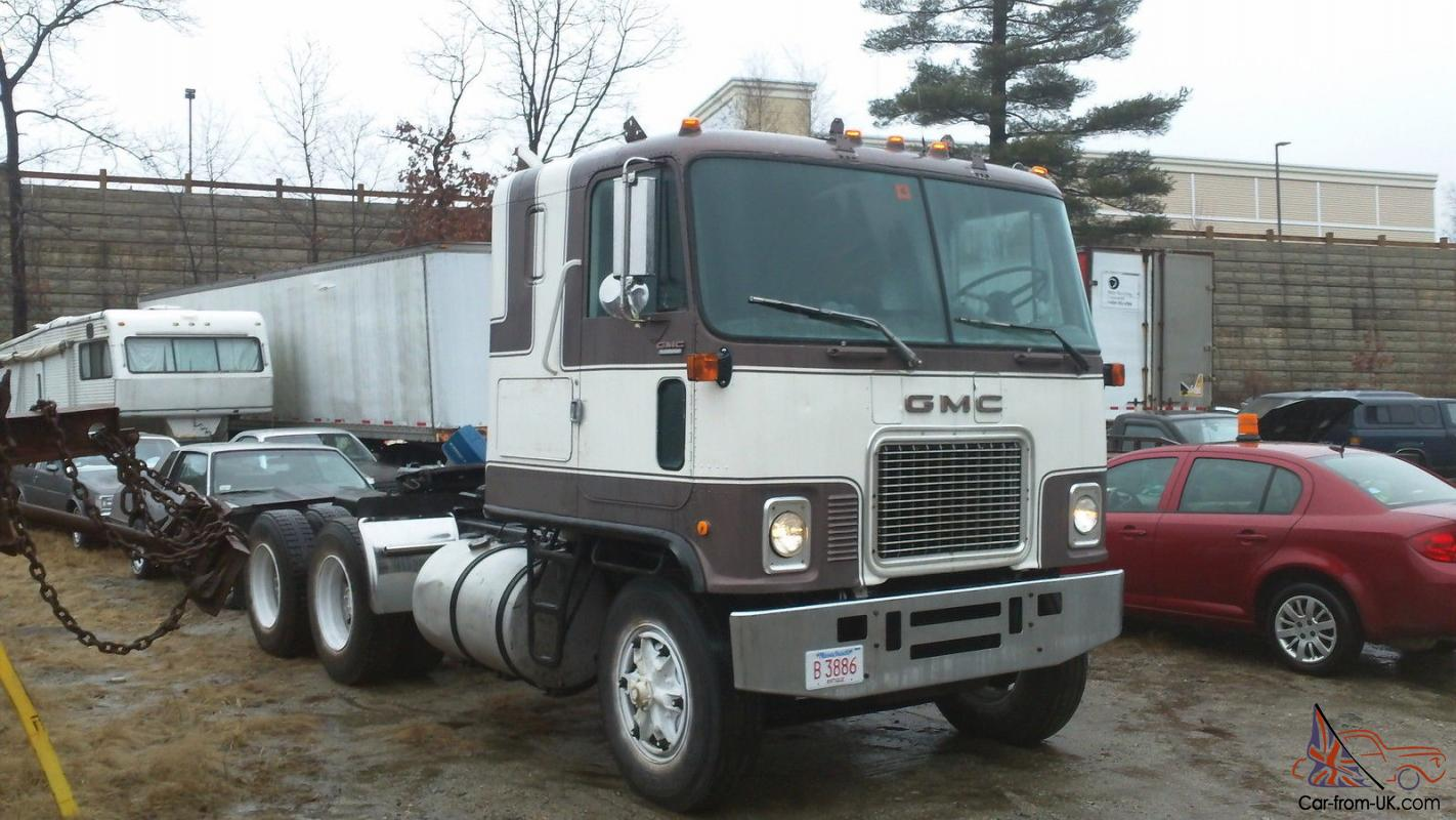 Cabover Trucks For Sale >> 1978 Gmc Astro Cabover Truck Semi