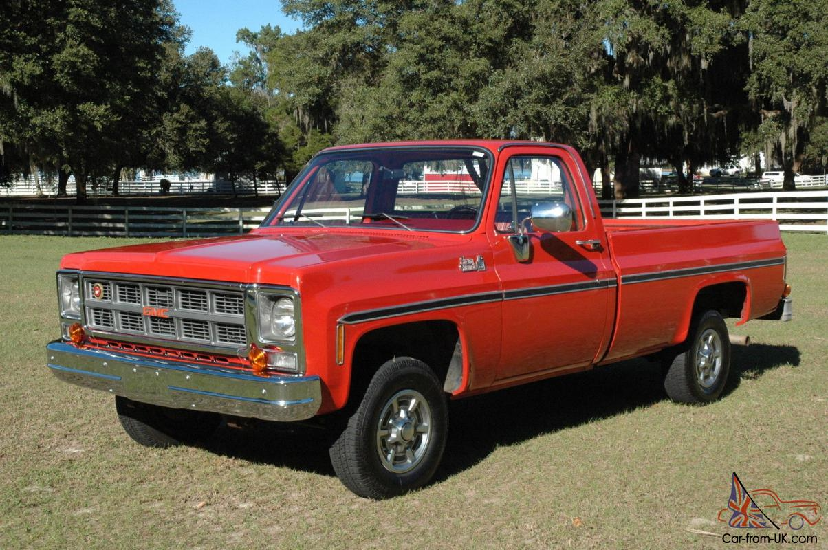 1979 GMC SIERRA 1500 GRANDE - 4X4 - ONLY 19,809 DOCUMENTED ONE OWNER MILES