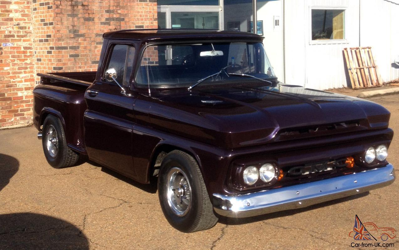 1962 Gmc Pick Up Reg Cab Step Side V8 Auto