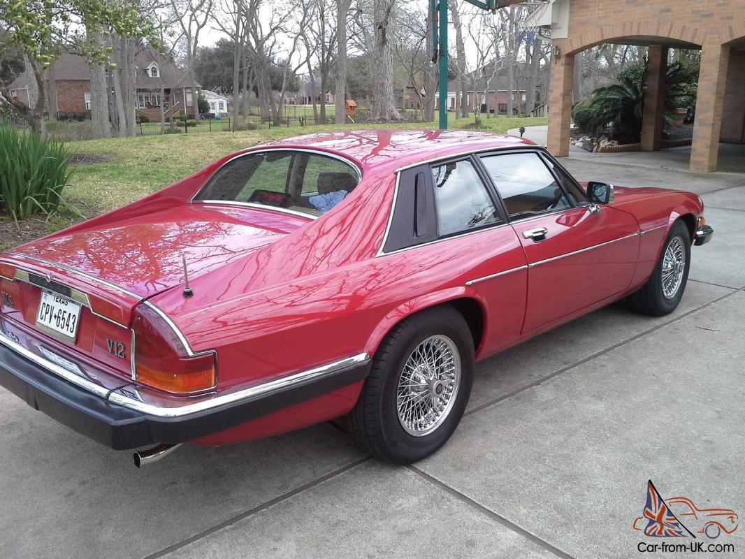 1988 Jaguar XJS - V12 Coupe in Red excellent condition ...
