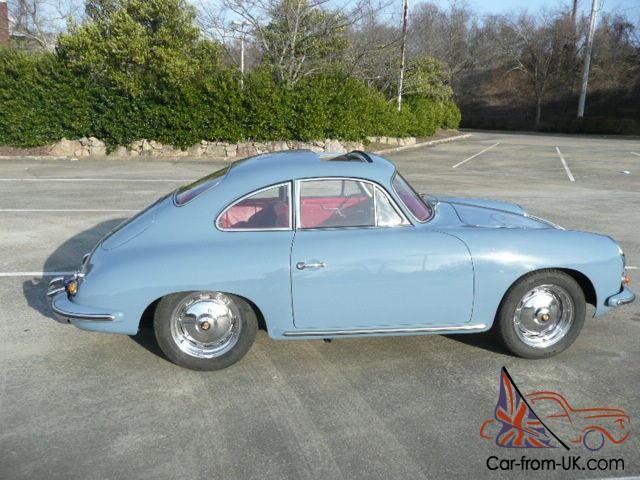 1960 Porsche 356 Super Sunroof Coupe,COA, Numbers, CA car, Fresh  Restoration!