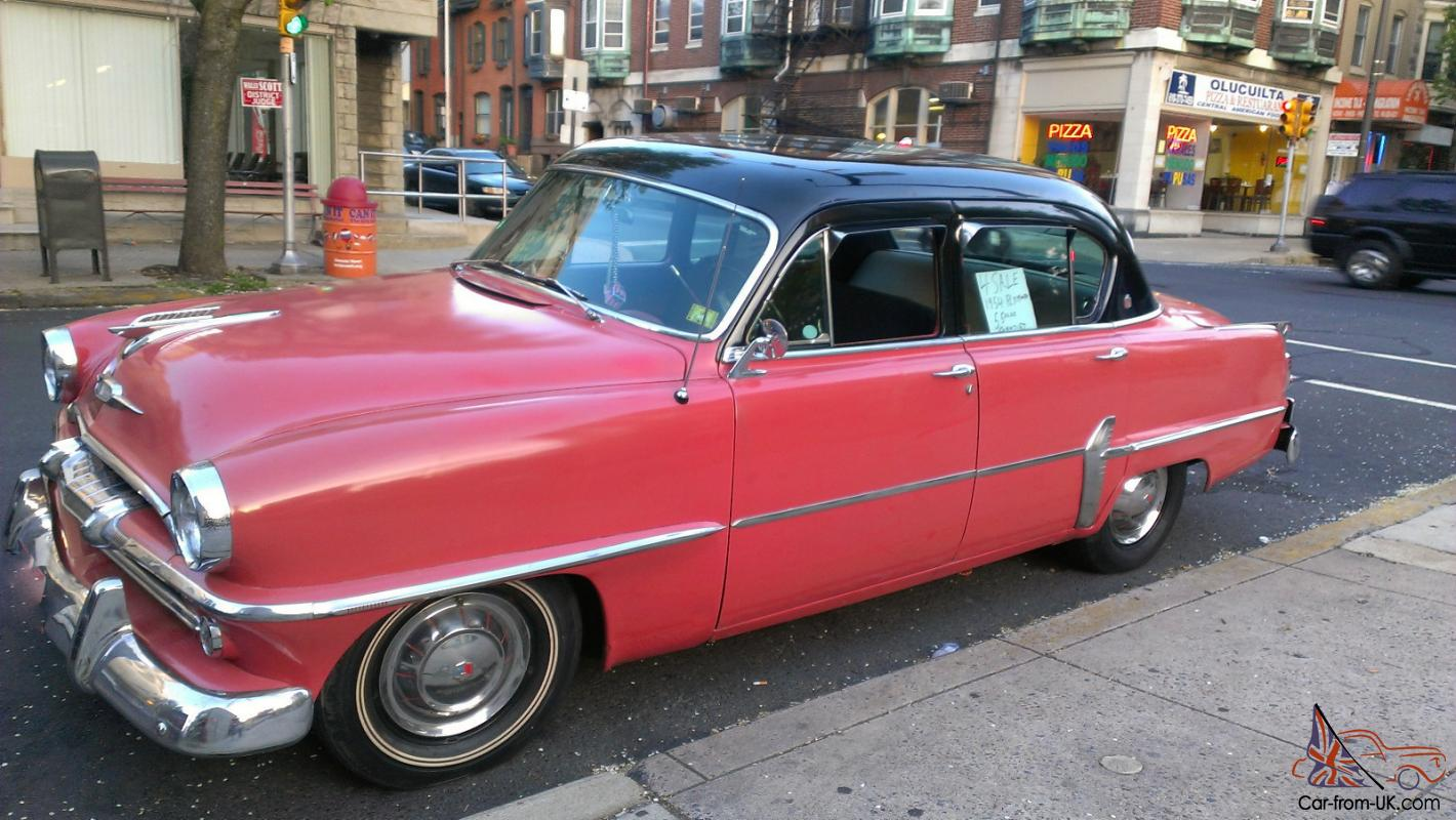 1954 Plymouth Belvedere Sport Coupe! 87,169 Miles! Great ...   1954 Plymouth Belvedere Gas Mileage