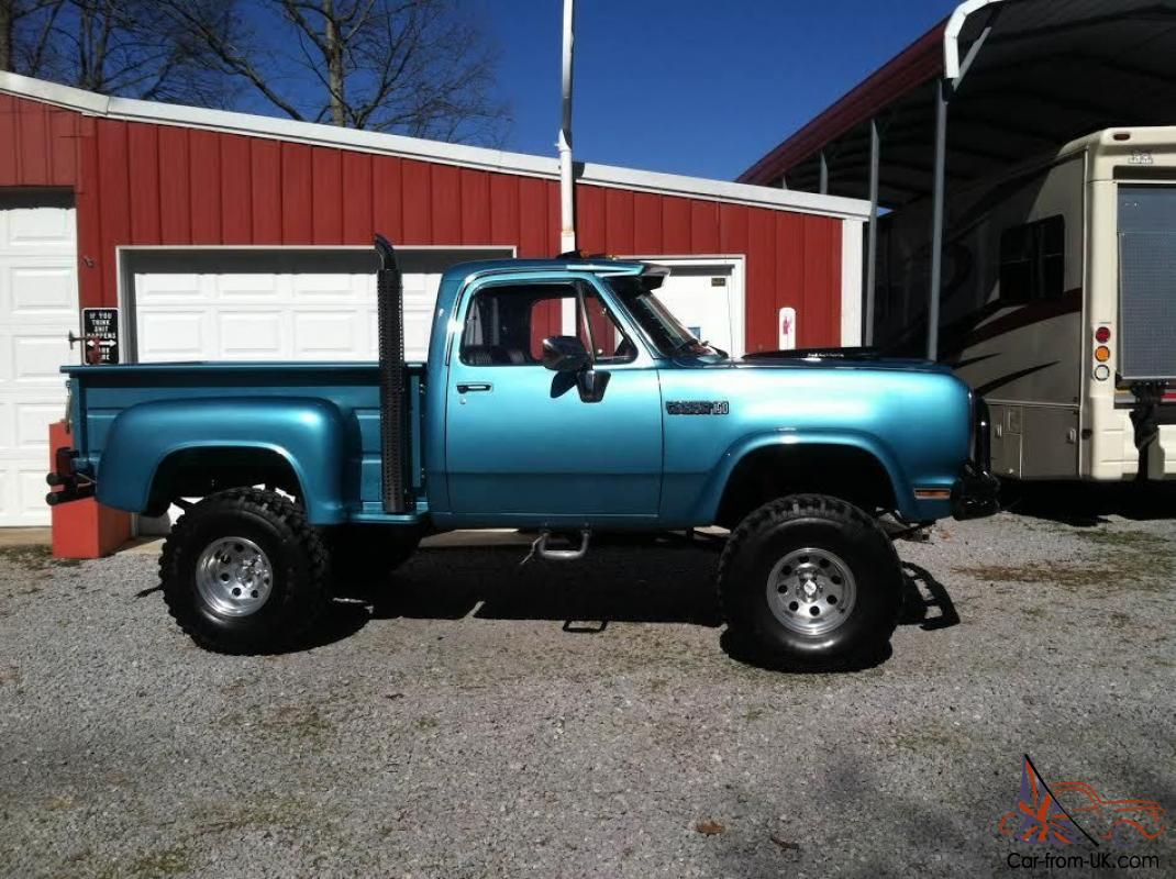 Dodge : Other Pickups POWER WAGON