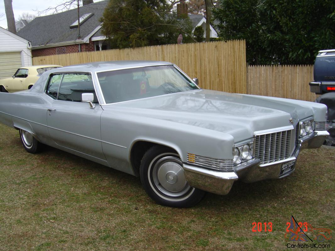 Wiring Diagram 1970 Cadillac Calais Custom Coupe 83k Miles 57 Chevy 41 Ford For Sale Rh Car From Uk Com 1973 1966 Deville