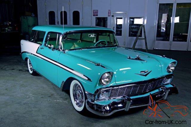 1956 Chevy Nomad Bel Air Restored Award Winning California Car