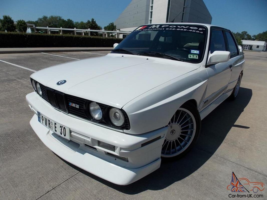 1988 Bmw M3 E30 Coupe Very Rare Lots Of Upgrades Alpina Wheels Alpine Radio