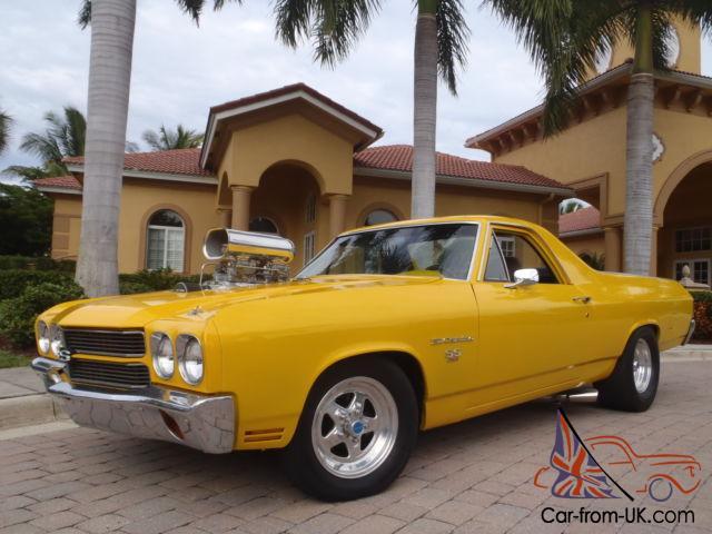FRESH BUILT 700hp 8-71 SUPERCHARGED 454 SS PRO STREET EL CAMINO 462cid 12  BOLT