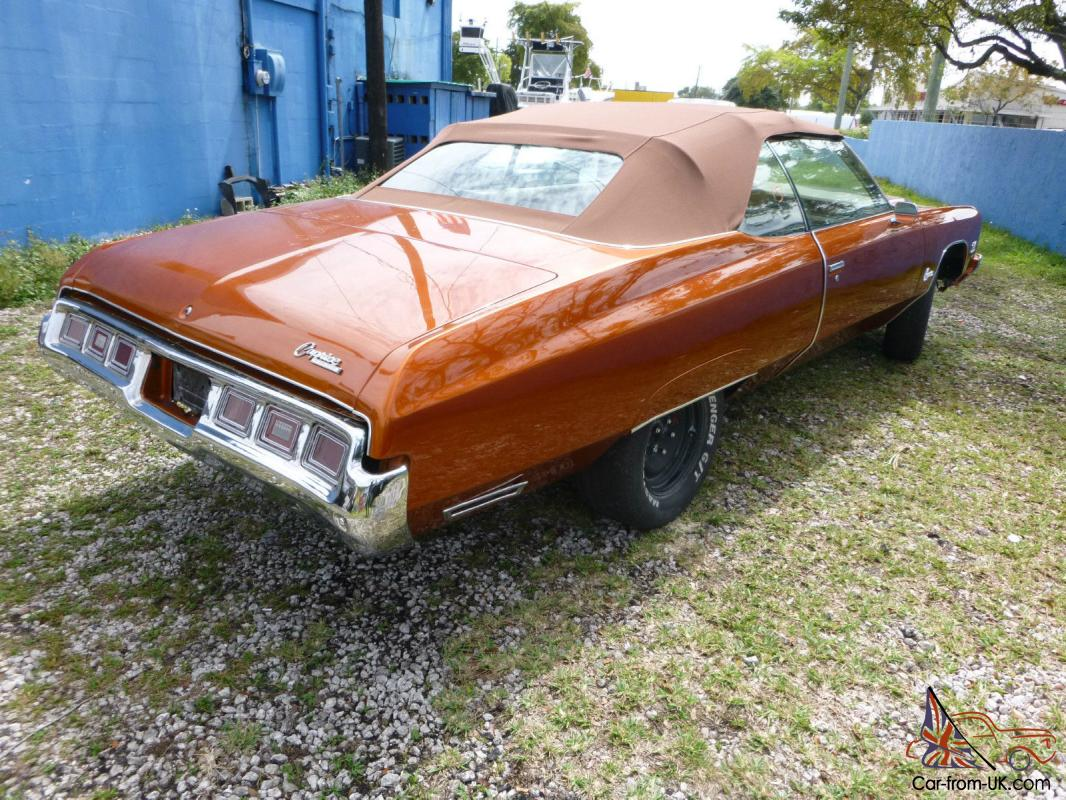All Chevy 1971 chevrolet caprice for sale : Chevrolet Caprice Classic Convertible 2-Door 7.4L, CHRIS GAMBLE OF ...