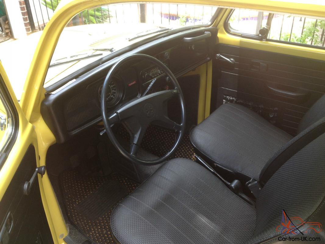 72 1972 Vw Volkswagen Super Beetle Unrestored Survivor