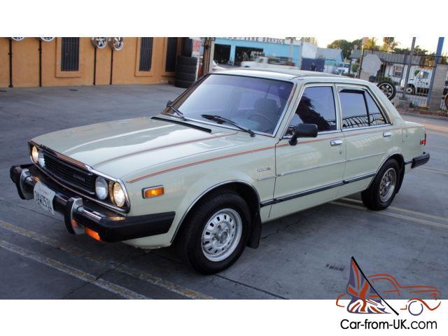 Old Honda Accord >> Classic 1981 Honda Accord First Generation California Sliding Ragtop No Reserve