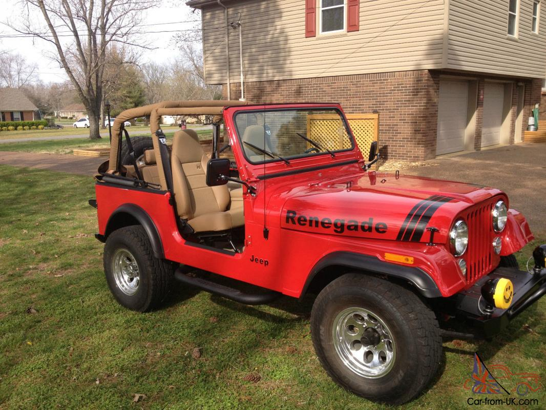 1977 Jeep Cj7 Amc 304 V8 Full Restoration 35k Invested