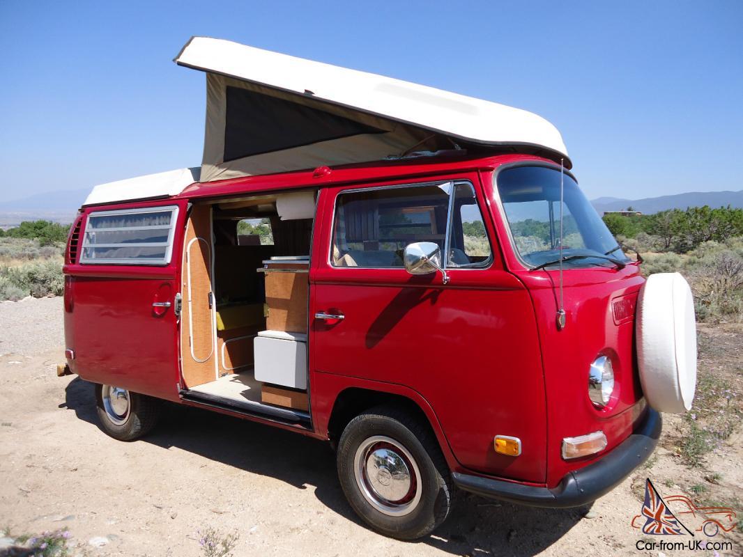 Restored 1971 Vw Westfalia Camper