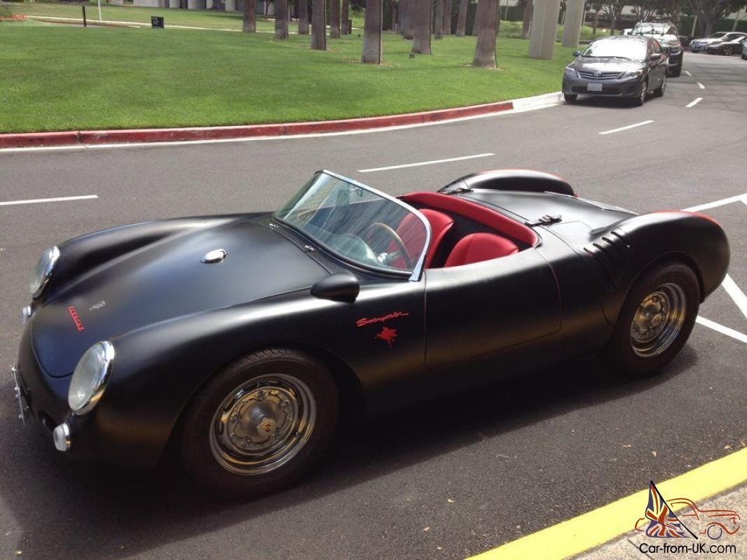 Porsche Spyder 550 >> 1955 Porsche Spyder 550 Replica Stuttgart Spyder Build Awesome Car