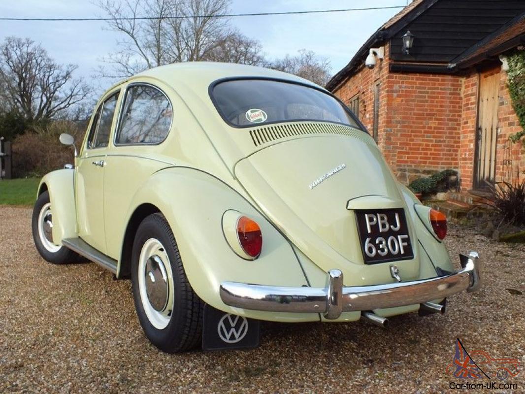 1967 VW Beetle 1500 - Fully restored beauty - Beryl Green - Leather interior