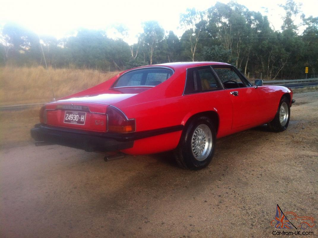 Jaguar XJS 1977 Coupe RED 350 Chev Turbo 400 Auto Full History Engineered